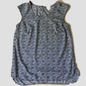 Merona Tops - 3/$25 Merona abstract sleeveless relaxed fit top